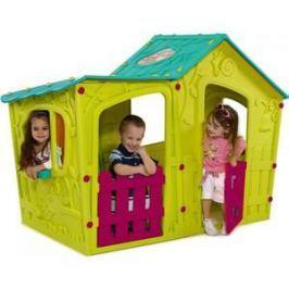 Игровой домик Keter Волшебная Вилла Зелено-бирюзовая 17190655