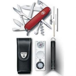 Набор Victorinox Traveller Set 1.8726 (нож, фонарь, компас, чехол)