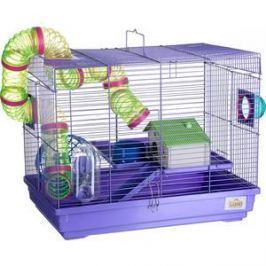 Клетка KREDO 513В из окрашенной проволоки в подарочной упаковке для грызунов