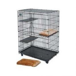 Лежанка Midwest Plush Cat Bed плюшевая 25х50 см для клетки Collapsible Cat Playpen (арт.130) для кошек