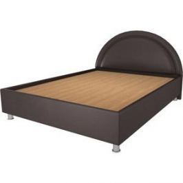Кровать OrthoSleep Градо lite жесткое основание Сонтекс Умбер 180х200