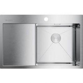 Кухонная мойка Omoikiri Akisame 78-IN-R, 780x510, нержавеющая сталь (4973061)