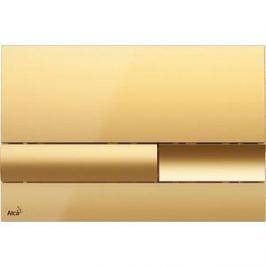 Клавиша смыва AlcaPlast золотая (M1745)