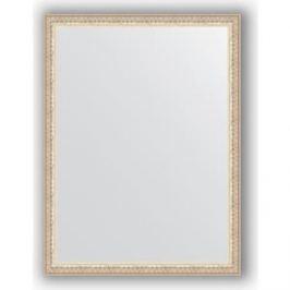 Зеркало в багетной раме поворотное Evoform Definite 61x81 см, мельхиор 41 мм (BY 1005)