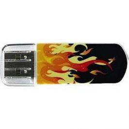 Флеш накопитель Verbatim 8GB Mini Elements Edition USB 2.0 Fire (98158)