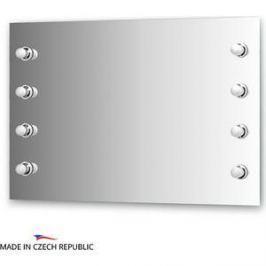 Зеркало Ellux Rondo 110х75 см, с 8-ю светильниками 320 W (RON-A8 9008)