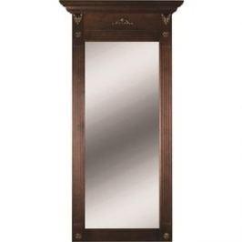 Зеркало Мебелик Сильвия тёмно-коричневый