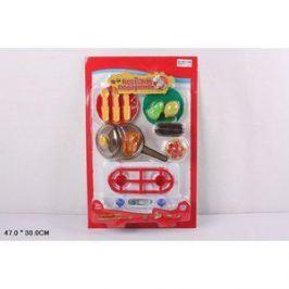 Игровой набор Play Smart кухонные принадлежности и муляжи Веселый поваренок (Р41451)