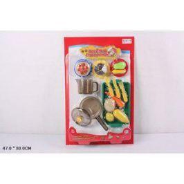 Игровой набор Play Smart кухонные принадлежности и муляжи Веселый поваренок (Р41345)