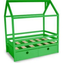 Кровать Anderson Дрима BOX зеленая 80x160