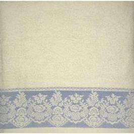 Полотенце Brielle Garden cream-blue 70x140 кремово-голубой (1204-85308)