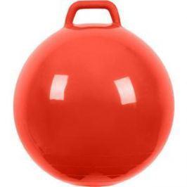 Мяч прыгун МалышОК , диаметр 500мм с ручкой красный в подарочной упаковке