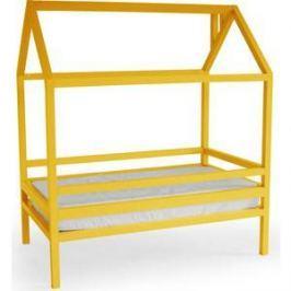 Кровать Anderson Дрима H желтая 80x190