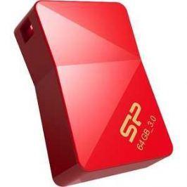 Флеш накопитель Silicon Power 64Gb Jewel J08 USB 3.0 Красный (SP064GBUF3J08V1R)