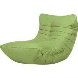 Бескаркасное кресло Папа Пуф Cocoon lime