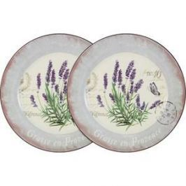 Набор из 2-х обеденных тарелок Anna Lafarg LF Ceramics Лаванда (AL-120E2257-L-LF)