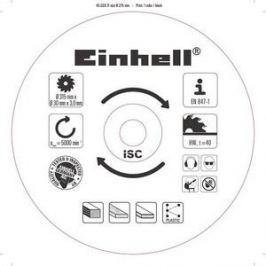 Диск пильный Einhell 315х30мм 40зубьев (4502011)