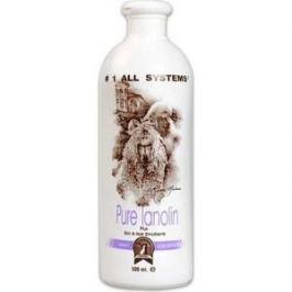 Кондиционер 1 All Systems Pure Lanolin Plus Skin & Hair Emollient с ланолином смягчающий для кожи и шерсти кошек и собак 500мл