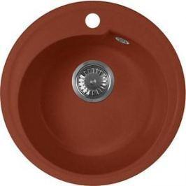 Кухонная мойка AquaGranitEx M-45 440х440 красный марс (M-45 (334))