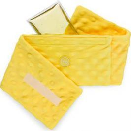 Анти-коликовая гелевая грелка  с чехлом Happy Baby Fusion care (21009 yellow)
