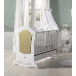 Кроватка Micuna Alexa BIG Relax 140*70 white/gold