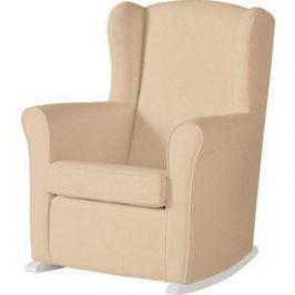 Кресло-качалка Micuna Wing/Nanny white/honeycomb beige