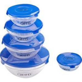 Набор контейнеров для СВЧ 5 предметов Gipfel Camelia (6208)