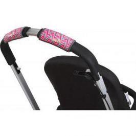 Чехлы Choopie CityGrips на ручку для универсальной коляски 328/9419 Chevron Baby Pink (Э0000003408)