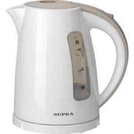 Чайник электрический Supra KES-1726 белый/бежевый