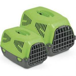 Переноска MPS SIRIO LITTLE зеленая 50x33,5x31h см для животных
