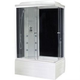Душевая кабина Royal Bath 100х80х217 стекло левая черное/прозрачное (RB8100BP3-BT-L)