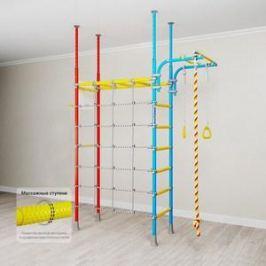 Детский спортивный комплекс Romana Karusel R4 (ДСКМ-4-7.06.Г1.490.18-66) красно/голубой