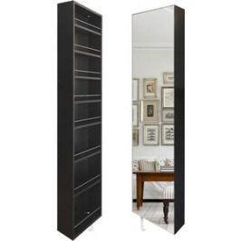 Поворотный зеркальный шкаф Shelf.On Драйв Шелф венге лево