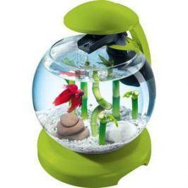 Аквариумный комплекс Tetra Cascade Globe Fresh Green Designer Nano Aquarium with Clear Water Tehnology 6,8л (зелёный)