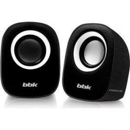 Компьютерные колонки BBK CA-303S черный/белый