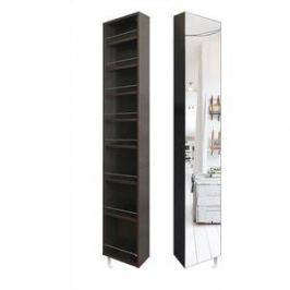 Поворотный зеркальный шкаф Shelf.On Лупо Шелф венге право