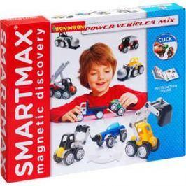 Bondibon Магнитный конструктор SmartMax Специальный (Special) набор: Мощная техника 303