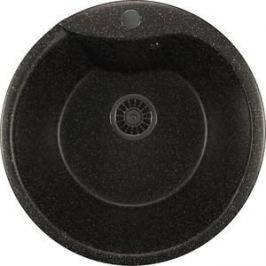 Кухонная мойка Mixline ML-GM12 48х48 черный 308 (4630030633075)