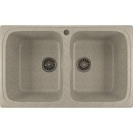 Кухонная мойка Mixline ML-GM23 49,5х77,5 серый 310 (4630030635680)