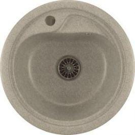 Кухонная мойка Mixline ML-GM10 44х44 серый 310 (4630030632566)