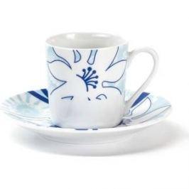 Набор кофейных пар 0.1 л 12 предметов La Rose des Sables Bleu Sky (539012 2230)