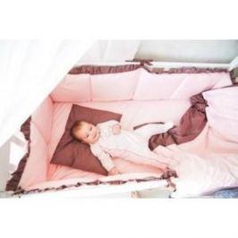 Комплект в кроватку By Twinz 6 пр. Персики в шоколаде Классика