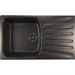 Кухонная мойка Mixline ML-GM20 48х83 черный 308 (4630030634997)