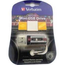 Флеш-диск Verbatim 32Gb Mini Cassette Edition Black (49391)