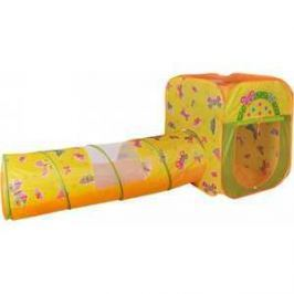 Игровая палатка Ching-Ching Бабочки, квадрат/тоннель + 100 шаров (CBH-23)