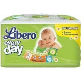 Libero Подгузники детские Every Day миди 4-9кг 46шт упаковка экономичная