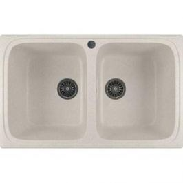 Кухонная мойка Mixline ML-GM23 49,5х77,5 белый 331 (4630030635864)