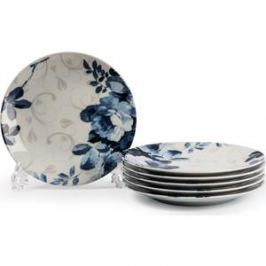 Набор тарелок 27 см La Rose des Sables Jardin Bleu Monalisa (729006 1780)