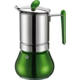 Гейзерная кофеварка на 4 чашки G.A.T. Annetta зеленый (251004 green)