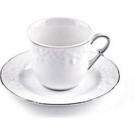 Набор чайных пар 0.22 л 12 предметов La Rose des Sables Vendange Platine (699506 0019)